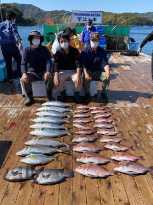 海上釣堀 辨屋の2021年4月7日(水)2枚目の写真