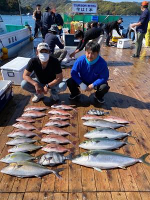 海上釣堀 辨屋の2021年4月7日(水)3枚目の写真