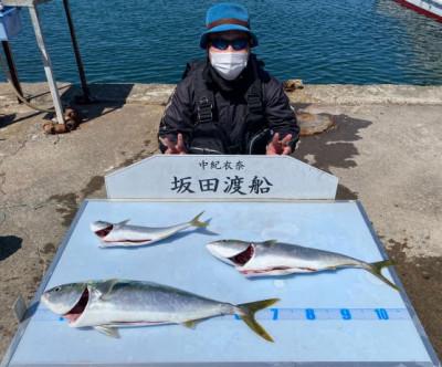 坂田渡船の2021年4月7日(水)3枚目の写真