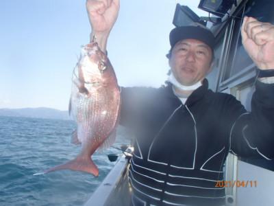秀吉丸の2021年4月11日(日)2枚目の写真