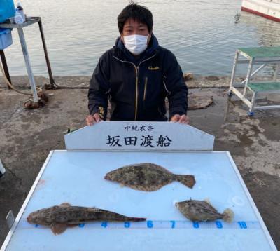 坂田渡船の2021年4月10日(土)2枚目の写真