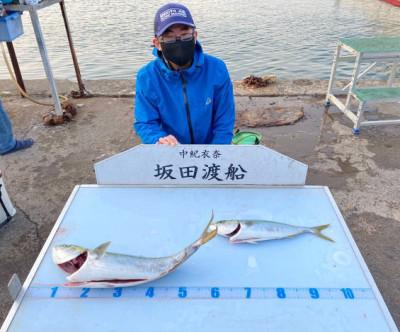 坂田渡船の2021年4月10日(土)5枚目の写真