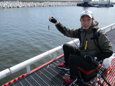 尼崎市立魚つり公園の2021年4月15日(木)1枚目の写真
