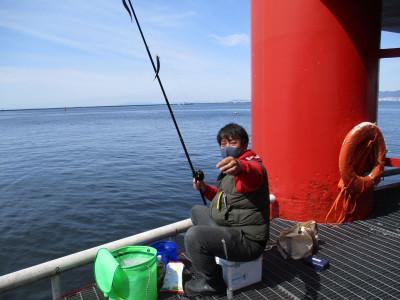 尼崎市立魚つり公園の2021年4月15日(木)2枚目の写真