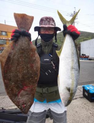 丸銀釣りセンターの2021年4月17日(土)3枚目の写真