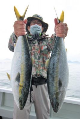 西岡遊漁の2021年4月16日(金)2枚目の写真