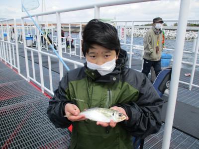 尼崎市立魚つり公園の2021年4月18日(日)1枚目の写真