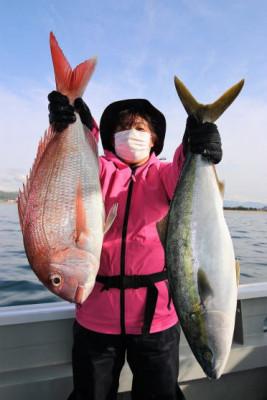 西岡遊漁の2021年4月17日(土)1枚目の写真