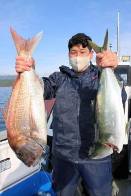 西岡遊漁の2021年4月17日(土)2枚目の写真