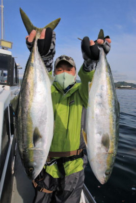 西岡遊漁の2021年4月17日(土)4枚目の写真