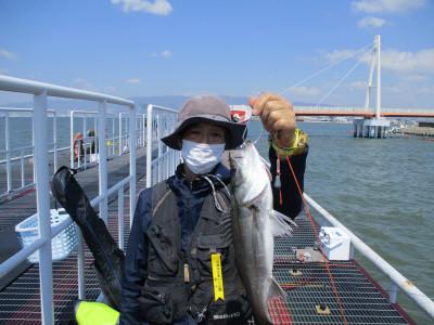 尼崎市立魚つり公園の2021年4月19日(月)1枚目の写真
