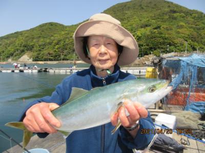 由良海つり公園&釣堀ランドの2021年4月20日(火)1枚目の写真