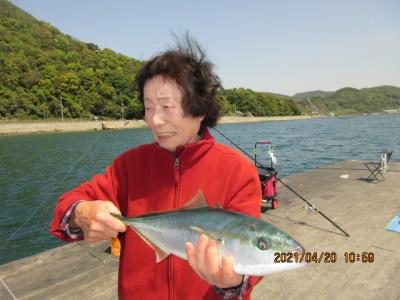 由良海つり公園&釣堀ランドの2021年4月20日(火)2枚目の写真
