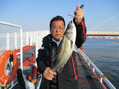 尼崎市立魚つり公園の2021年4月21日(水)1枚目の写真