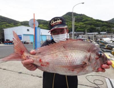 丸銀釣りセンターの2021年4月23日(金)1枚目の写真