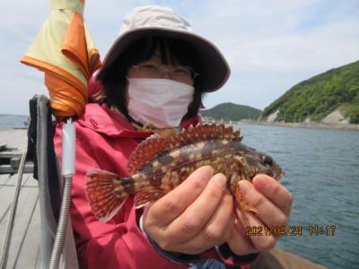由良海つり公園&釣堀ランドの2021年4月24日(土)2枚目の写真