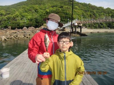 由良海つり公園&釣堀ランドの2021年4月25日(日)1枚目の写真