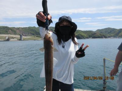 由良海つり公園&釣堀ランドの2021年4月25日(日)2枚目の写真