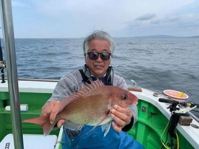 三喜丸釣船店の2021年4月25日(日)2枚目の写真