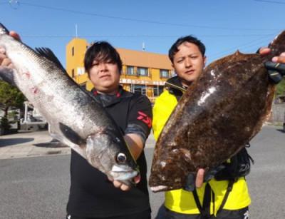 丸銀釣りセンターの2021年4月25日(日)1枚目の写真