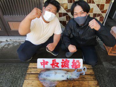 中長渡船の2021年4月27日(火)1枚目の写真