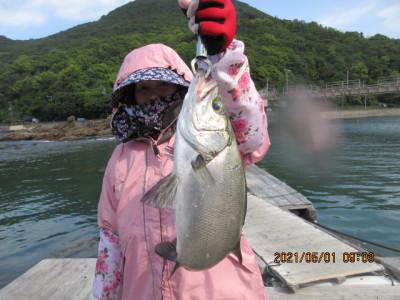 由良海つり公園&釣堀ランドの2021年5月1日(土)1枚目の写真