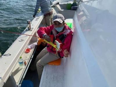 三喜丸釣船店の2021年5月1日(土)2枚目の写真