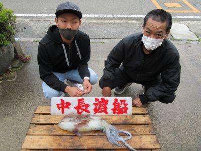中長渡船の2021年5月2日(日)2枚目の写真