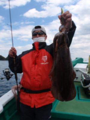釣り船 久勝丸の2021年5月2日(日)3枚目の写真