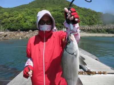 由良海つり公園&釣堀ランドの2021年5月3日(月)2枚目の写真