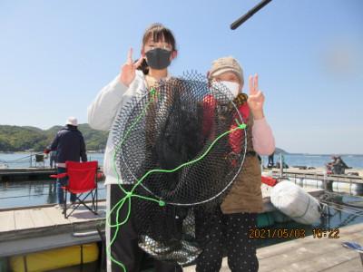 由良海つり公園&釣堀ランドの2021年5月3日(月)3枚目の写真