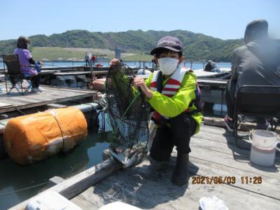 由良海つり公園&釣堀ランドの2021年5月3日(月)4枚目の写真