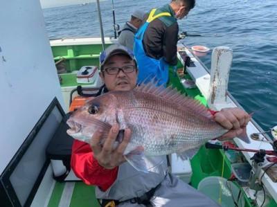 三喜丸釣船店の2021年5月4日(火)1枚目の写真