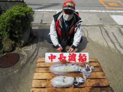 中長渡船の2021年5月4日(火)2枚目の写真