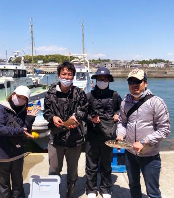 船宿 秋田屋の2021年5月3日(月)4枚目の写真