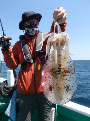 釣り船 久勝丸の2021年5月3日(月)1枚目の写真