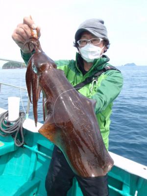 釣り船 久勝丸の2021年5月4日(火)2枚目の写真
