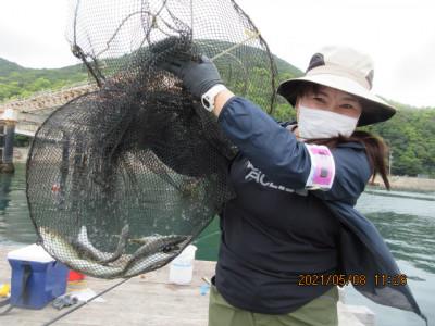 由良海つり公園&釣堀ランドの2021年5月8日(土)1枚目の写真