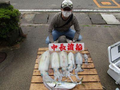中長渡船の2021年5月8日(土)2枚目の写真