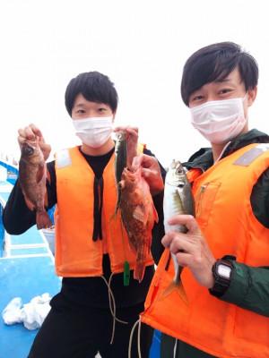 船宿 秋田屋の2021年5月7日(金)1枚目の写真