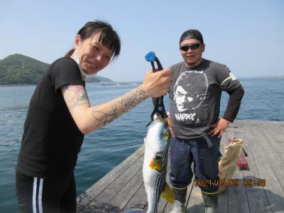 由良海つり公園&釣堀ランドの2021年5月9日(日)2枚目の写真