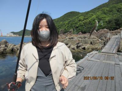 由良海つり公園&釣堀ランドの2021年5月10日(月)1枚目の写真