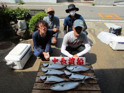 中長渡船の2021年5月10日(月)1枚目の写真