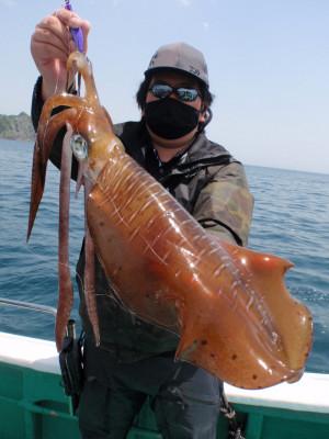 釣り船 久勝丸の2021年5月9日(日)1枚目の写真