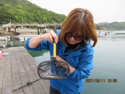 由良海つり公園&釣堀ランドの2021年5月11日(火)1枚目の写真