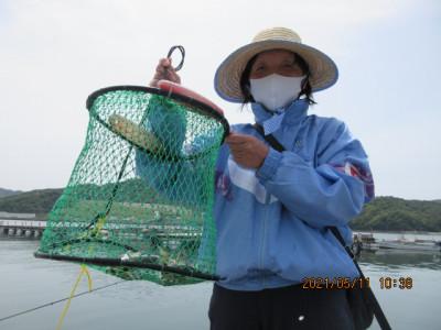 由良海つり公園&釣堀ランドの2021年5月11日(火)2枚目の写真