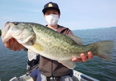 琵琶湖ランカーハウスの2021年5月14日(金)2枚目の写真