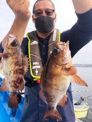 船宿 秋田屋の2021年5月15日(土)1枚目の写真