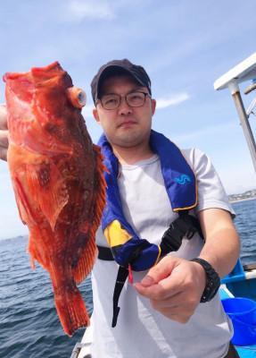 船宿 秋田屋の2021年5月15日(土)3枚目の写真