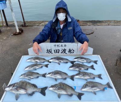 坂田渡船の2021年5月19日(水)1枚目の写真